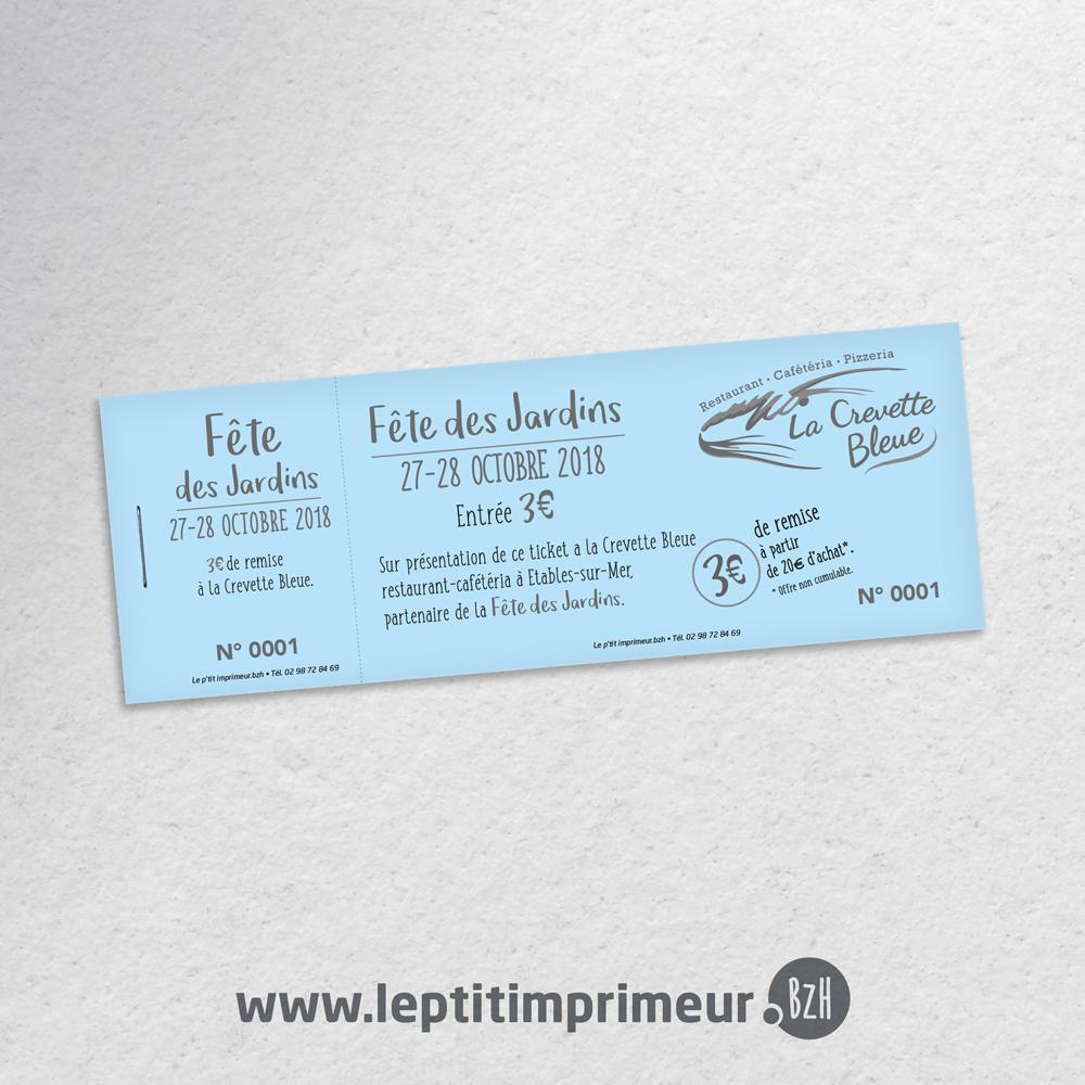 Ticket Ou Billet Eco