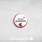 badge Rouge