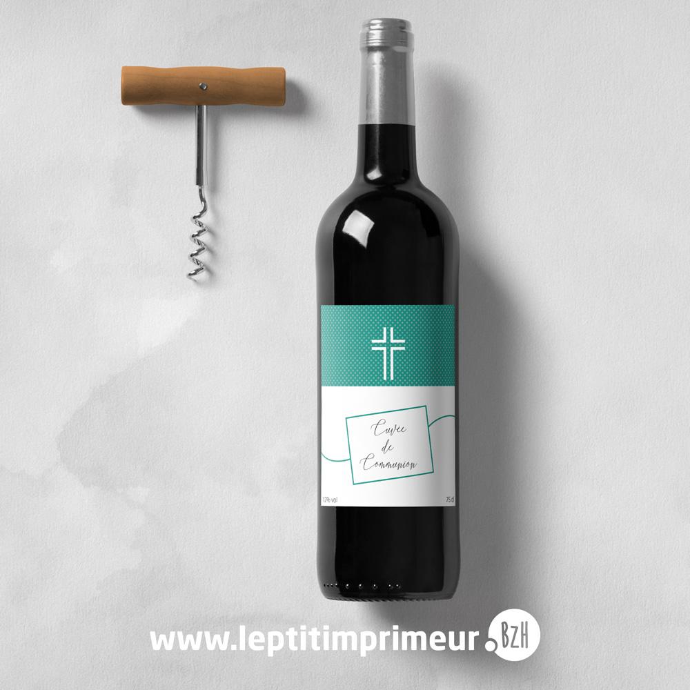 Etquettes bouteille Menthe