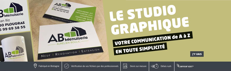 Studio graphique Le p'tit imprimeur.bzh