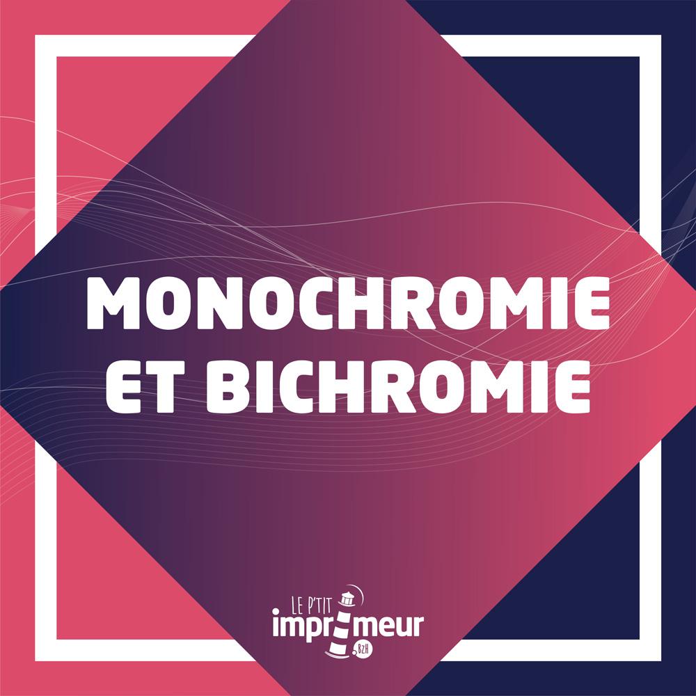 monochromie et bochromie