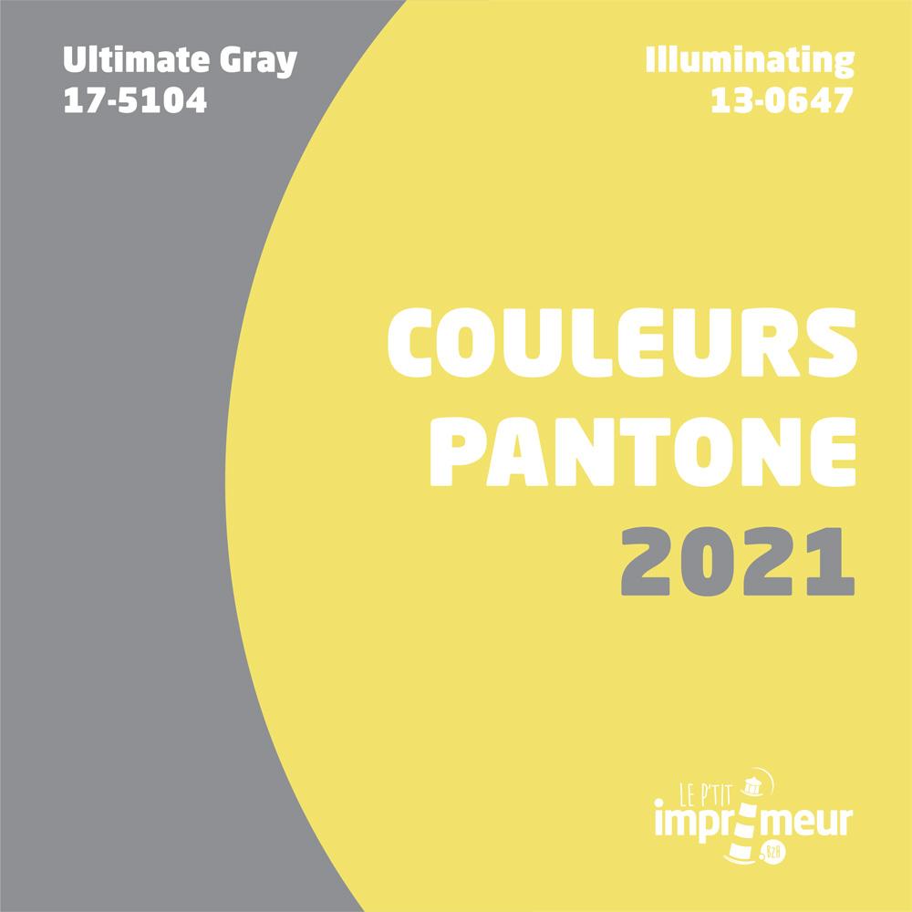 Les couleurs pantones 2021