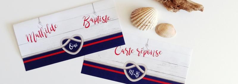 Collection mariage noeud marin | Le p'tit imprimeur.bzh