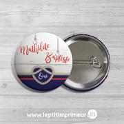 Badge mariage - Noeud marin