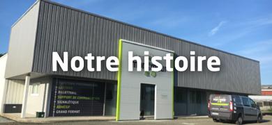 Notre histoire | Le p'tit imprimeur.bzh