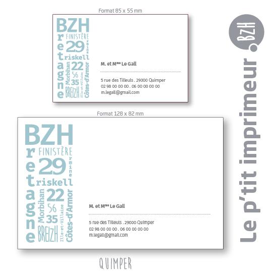 Carte De Visite Imprime En Bretagne
