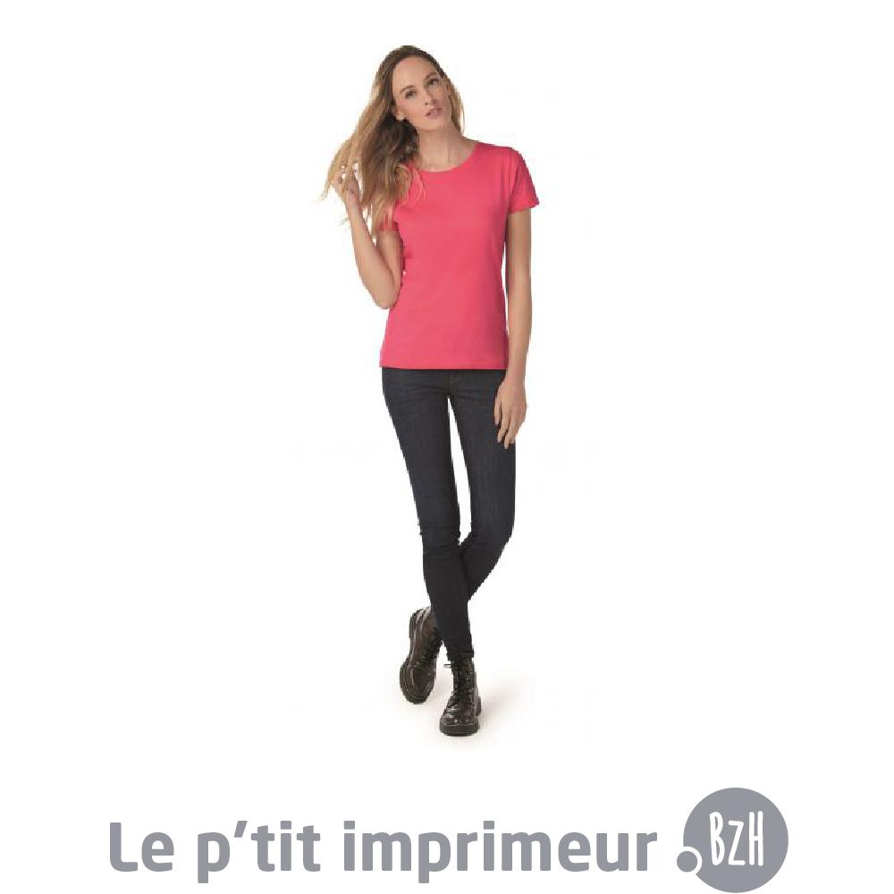 tee shirt femme personnaliser le p 39 tit. Black Bedroom Furniture Sets. Home Design Ideas